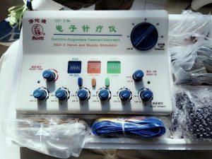 מכשיר אלקטרו-אקופונקטורה לטיפול בכאבי שלד-שריר